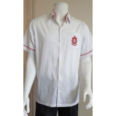 BOYS WHITE SHIRTS (With embroidered Crest)
