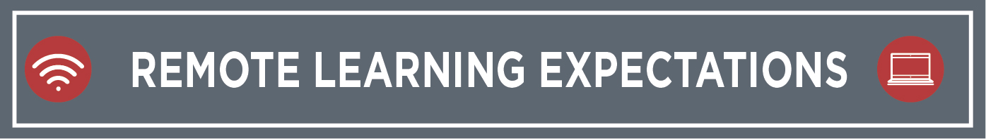 Remote Learning Expectations BANNER